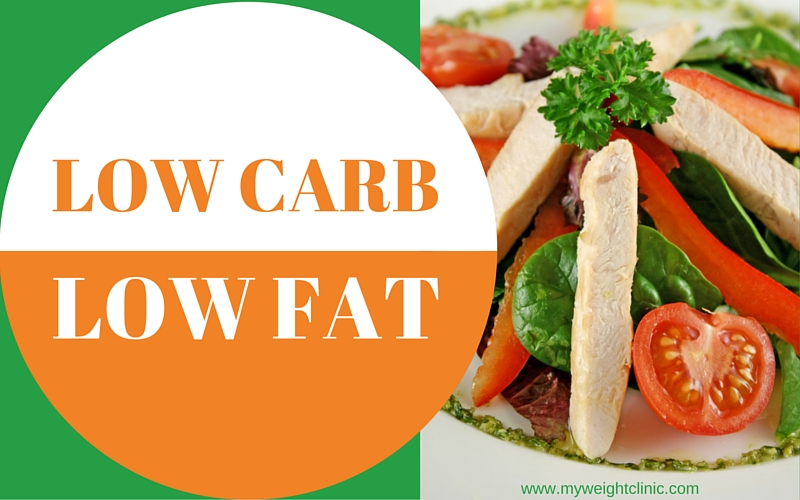 low carb low fat