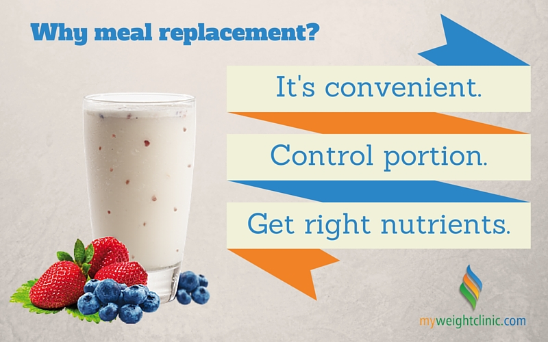 meal replacement diet benefits